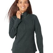 Women's French Terry Quarter-Zip Pullover