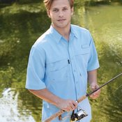 Catch Short Sleeve Performance Fishing Shirt