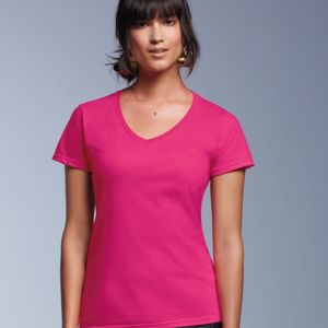 Women's Lightweight Ringspun V-Neck T-Shirt Thumbnail