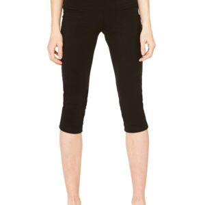 Women's Cotton Spandex Capri Fit Legging Thumbnail