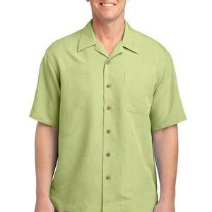 Patterned Easy Care Camp Shirt Thumbnail