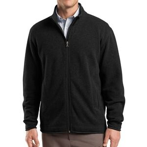 Sweater Fleece Full Zip Jacket Thumbnail