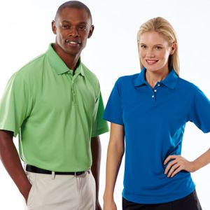 UltraClub® Men's Cool & Dry Stain-Release Performance Polo Thumbnail
