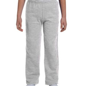 Youth Heavy Blend™ 8 oz., 50/50 Open-Bottom Sweatpants Thumbnail