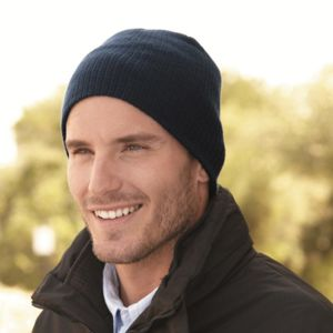 Soft Wide Ribbed Beanie Thumbnail