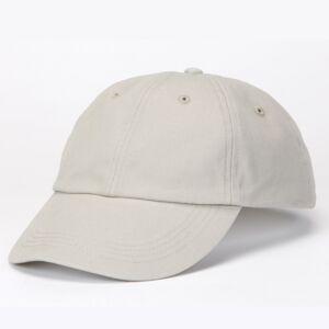 Solid Low-Profile Brushed Twill Cap Thumbnail