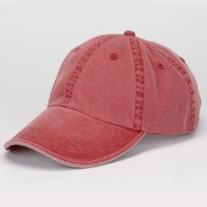 Solid Low-Profile Sandwich Trim Twill Cap Thumbnail