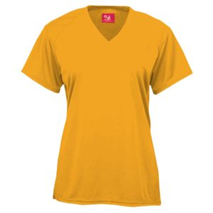 B-Core Ladies V-Neck Short-Sleeved Performance Tee Thumbnail