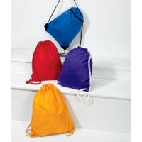 UltraClub Zippered Drawstring Sport Pack Thumbnail