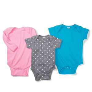 Infant Baby Rib Lap-Shoulder Bodysuit Thumbnail