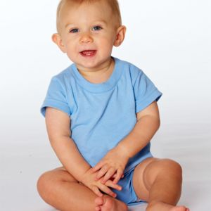 Rabbit Skins Infant Short-Sleeve Creeper Thumbnail
