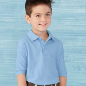 DryBlend® Youth Double Pique Sport Shirt Thumbnail