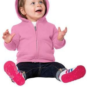 Infant Core Fleece Full Zip Hooded Sweatshirt Thumbnail