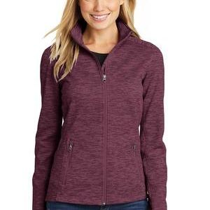 Ladies Digi Stripe Fleece Jacket Thumbnail