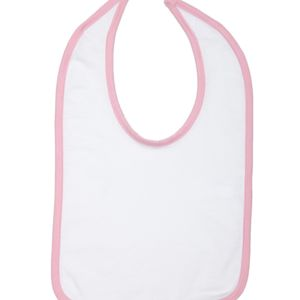 Infant Jersey Contrast Trim Closure Bib Thumbnail