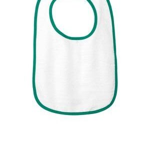 ™ Infant Contrast Trim Terry Bib Thumbnail